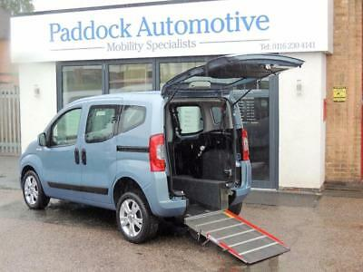 Fiat Qubo 1.3 TD Disabled Wheelchair Adapted Vehicle WAV