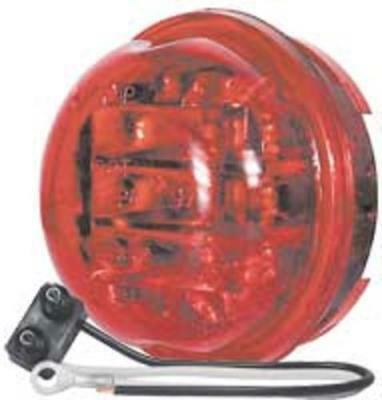 Truck-Lite 81234 LED 30-Series Clearance/Marker LED Lamp, 14 V, Red