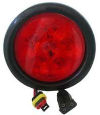 Truck-Lite 81238 6-LED Super-44 Stop/Turn/Tail Lamp Grommet Kit, Red