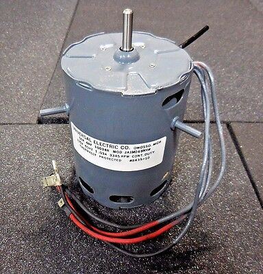 Universal Electric Co. JA1M069NV$ Thermally Protected 3345 RPM Cont. Duty Motor