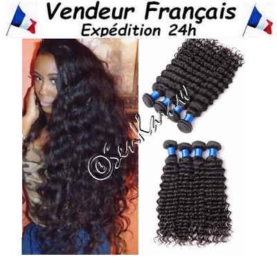 Extension Tissage Bresilien 100% Naturel Certifie Virgin Hair Remy 100G