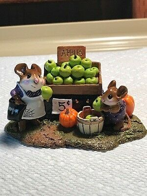 Wee Forest Folk Adam's Apples Halloween Limited