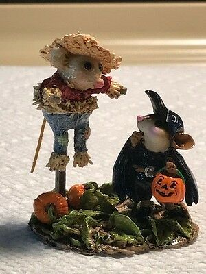Wee Forest Folk M-325 Scared Crow Halloween