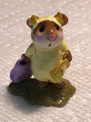 Wee Forest Folk M-61 Little Devil, Store Special Yellow with Gold Trim