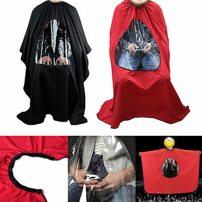 Hair Cutting Cape Salon Hairdressing Hairdresser VIEWING WINDOW Barber Cloth NEW