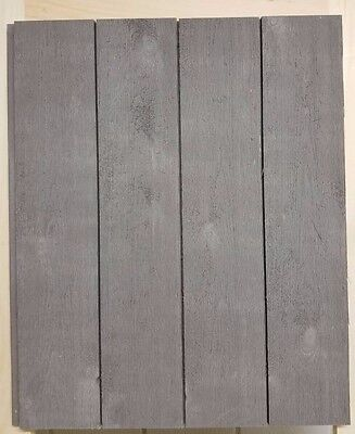 """SHIPLAP - 6"""" x 8' LONG - GRAY - Prefinished Factory Seconds with Nickel Gap"""