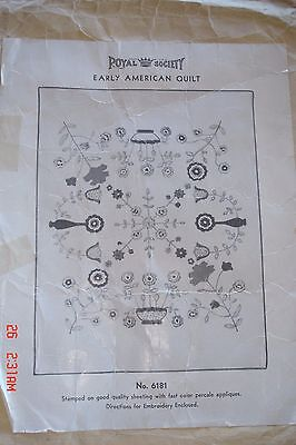 Antique Royal Society Early American Quilt Kit No. 6181