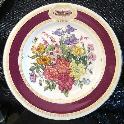 1984 chelsea flower show minton plate picclick uk - Royal flower show ...