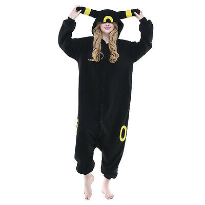 Unisex Adult Pajamas Kigurumi Cosplay Costume Animal Onesi (Moon Elf S)
