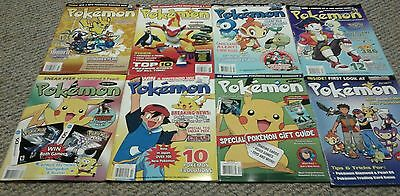 Pokemon Beckett Unofficial Collector Lot of 8 Magazines