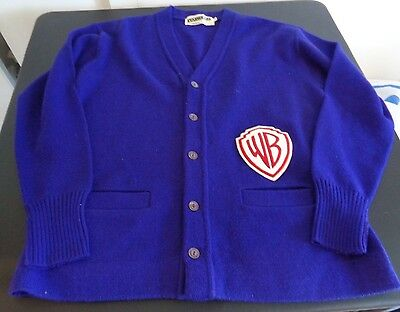 WB Warner Brothers VINTAGE Letterman Style Sweater PROMO Starwears Size 46