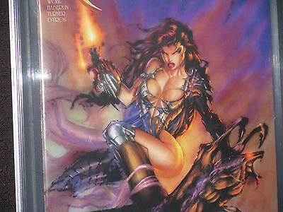 Witchblade 1 CGC 9.4 NM Turner Wraparound Cover HTF