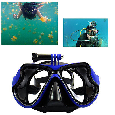 New Snorkel Scuba Diving Mask Swimming Google Glasses for Gopro SJCAM with Mount