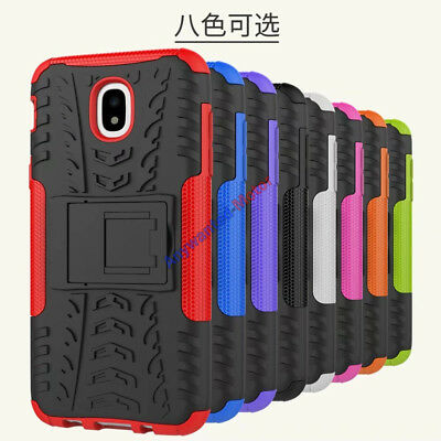 For Samsung Galaxy J7 J5 J3 (2017) Case Hybrid Tough Armor Kickstand Phone Cover