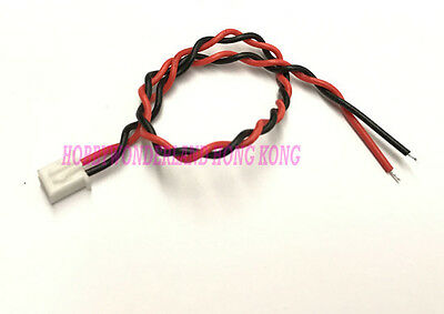 XH 2.5 JST 2-Pin Female Connector with twisted wire 24AWG Length 200mm x 10 pcs