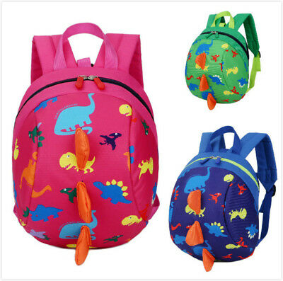 US Baby Kids Cartoon Backpack Anti-lost Toddler Walking Safety Harness Strap