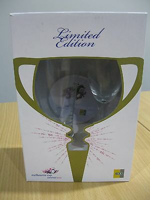 ORIGINAL PACKAGING - Limited Edition Melbourne Cup 2010 Commemorative Glass Set