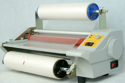 350mm Hot and Cold Roll laminating machine Laminator 600W 220V