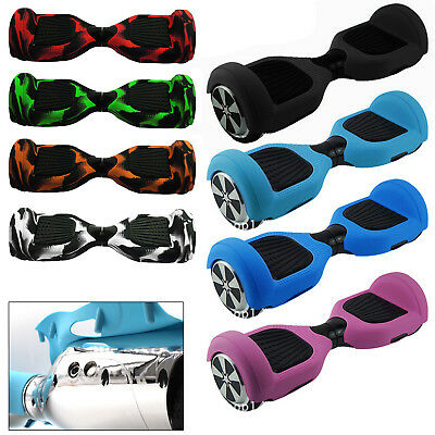 "6.5"" Silicone Équilibrage Scooter protections Coque Auto Equilibrage 8 coloris"