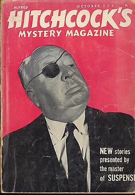 Alfred Hitchcock's Mystery Magazine Vol 11 No 10 Oct 1966 - Please See Photos