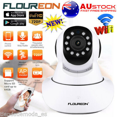 HD 720P WiFi Wireless IP Camera Security Surveillance PTZ Video Baby Pet Monitor