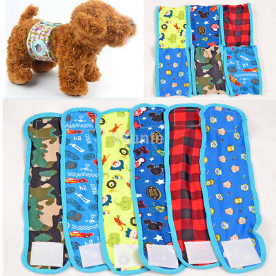Pet Male Dog Cotton Physiological Pants Sanitary Underwear Belly Band Diaper 1pc