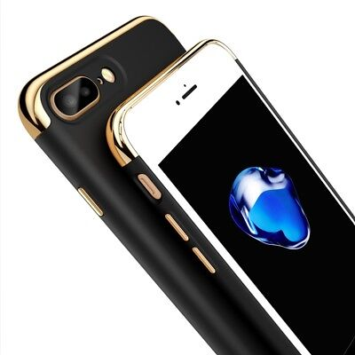 Luxury Ultra-thin Shockproof Hybrid 360 Case+Glass Protector for iPhone 6s/7/8