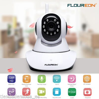 720P HD IP Camera Security WiFi Wireless Webcam PTZ 2-Way Audio Baby Pet Monitor