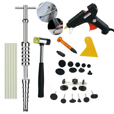 PDR Puller Hammer Dent Lifter Tools Paintless Auto Dent Repair Hail Removal Kit