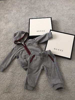 Gucci Baby Boy Tracksuit Age 6/9 Months