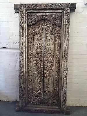 Antique Style Carved Decorative Door