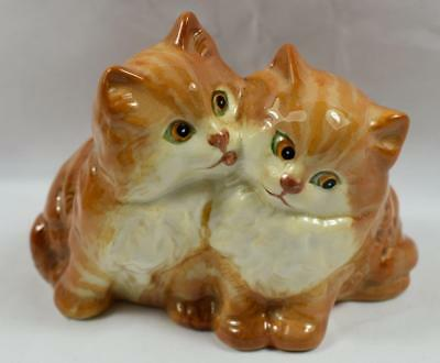 Beswick Persian Kittens - Seated Model 1316 Ginger Striped