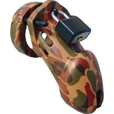 NEW CB-6000 Camouflage Finish Male Chastity Device