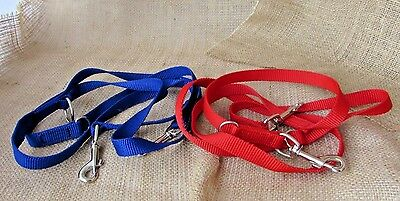 Dog multi point training lead, police style in webbing. 2M long.