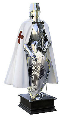 TEMPLAR KNIGHT ARMOR -  REAL SIZE 200 cm CERTIFIED- Marto, Made in Toledo