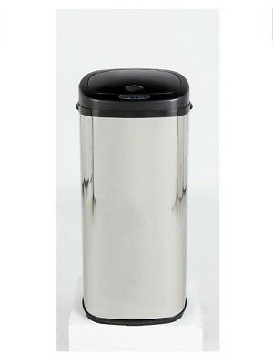 Morphy Richards 50 Litre Stainless Steel Waste / Garbage Bin w/ Sensor - Silver