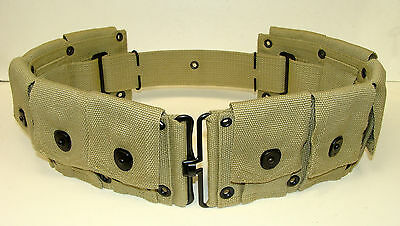 U.s. Model M-1923 10 Pocket M-1 Cartridge Belt Khaki 1942