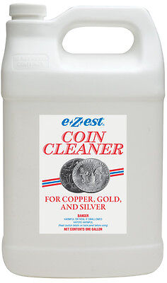 EZ EST E-Zest E-Z-EST COIN CLEANER DIP for Gold Silver Copper GALLON