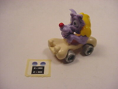 Kinder Surprise Egg Monster Wolfman Gokart Car (Lot#KS28) Ferrero Magic '2000