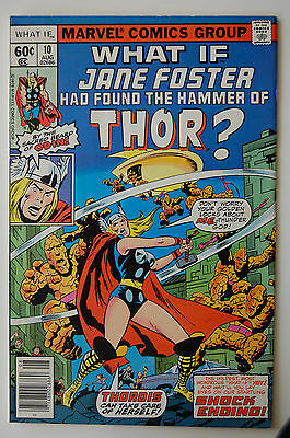 WHAT IF #10 (Marvel 1978) 1st Jane Foster as Thor (FN/VF)