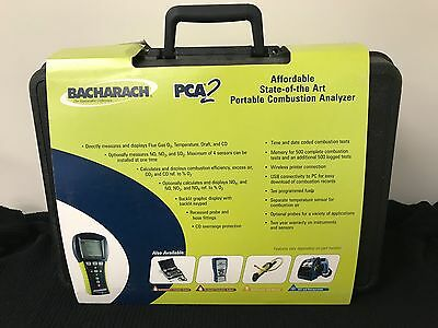 Bacharach Pca2 225 Portable Combustion Analyzer Kit With Printer 24-8370