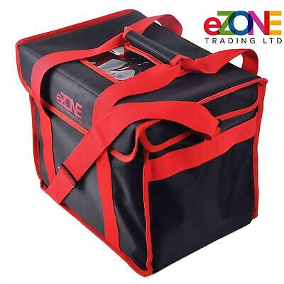 Commercial Food Delivery Bag Insulated Polyester - Takeaway Kebab Indian Chinese