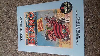 "BEANO 50th BIRTHDAY  POSTER PACK 8 X 12"" x 16"" 1940 1956 1961 1963 1980 1988"