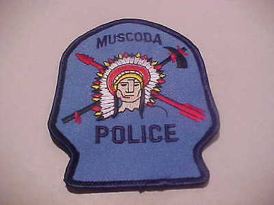 Muscoda  Wisconsin Police Patch Shoulder Size New