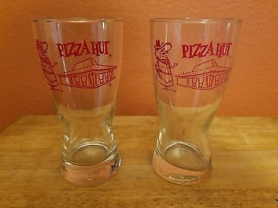 Pizza Hut Drinking Glass - Vintage Style (2 Glasses)