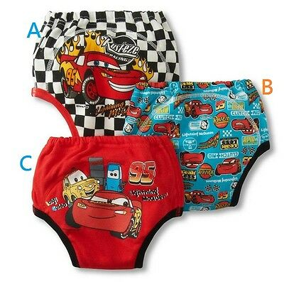 New 2 PCS Kids Baby Boy Cotton Toddler Potty Training Pants Underwear 12-18M