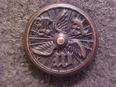 Very Rare 1800`s League Of American Wheelmen Button Early Bicyclists Bicycle