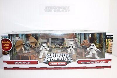 Star Wars Galactic Heroes Return Of The Jedi Glider Ewok Stormtrooper Endor