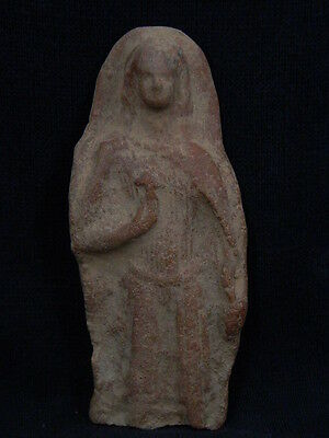 Ancient Teracotta Figure Bactrian C.300 BC #TR880