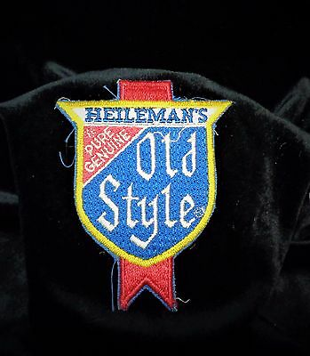 Vintage HEILEMAN'S Old Style PURE GENUINE Beer Collectors Patch - New Old Stock